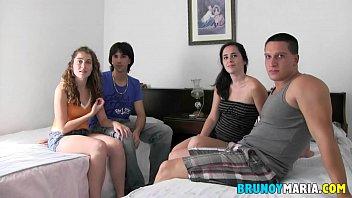 Intercambios de pareja REALES: los Brey vs Dafne y Alex...Folladas Brutales